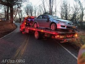 Blittersdorf's towing removing the vehicle