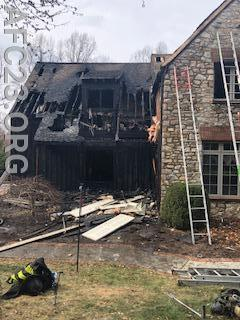 Hockessin's house fire on Sunday
