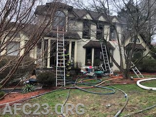 Hockessin's house fire Friday morning