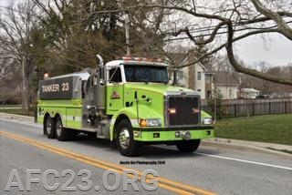 Tanker 23 staging
