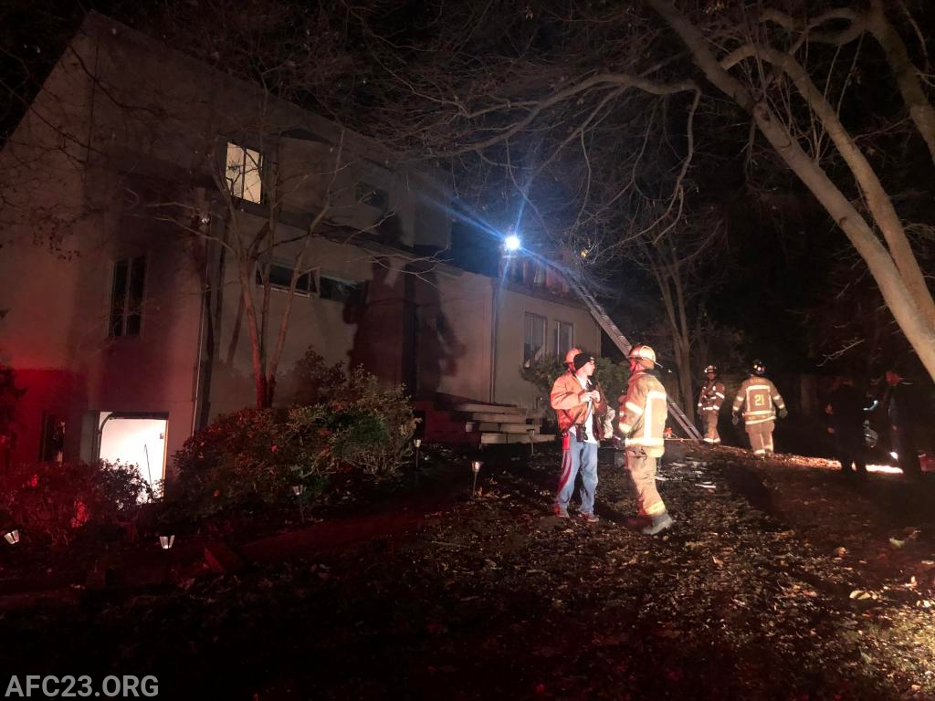Side A of the house fire.