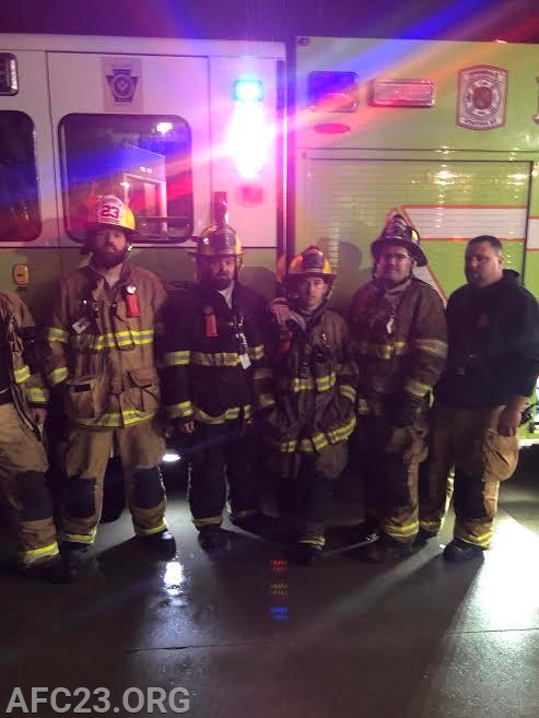 Engine 1's crew