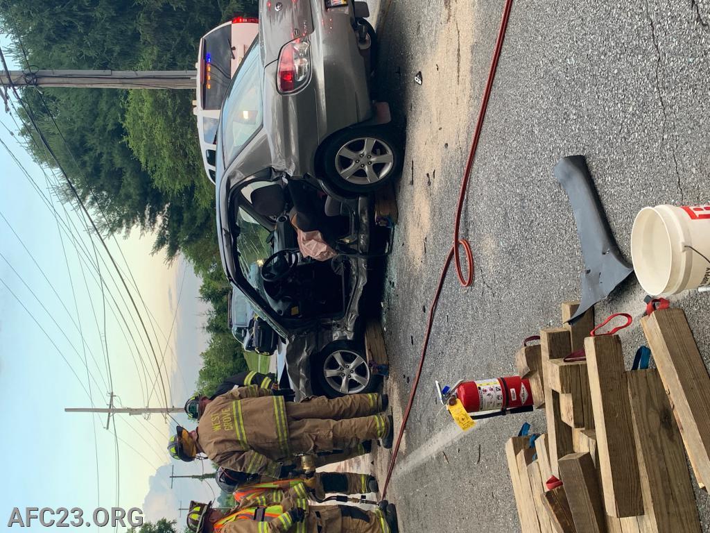 Driver side cut open