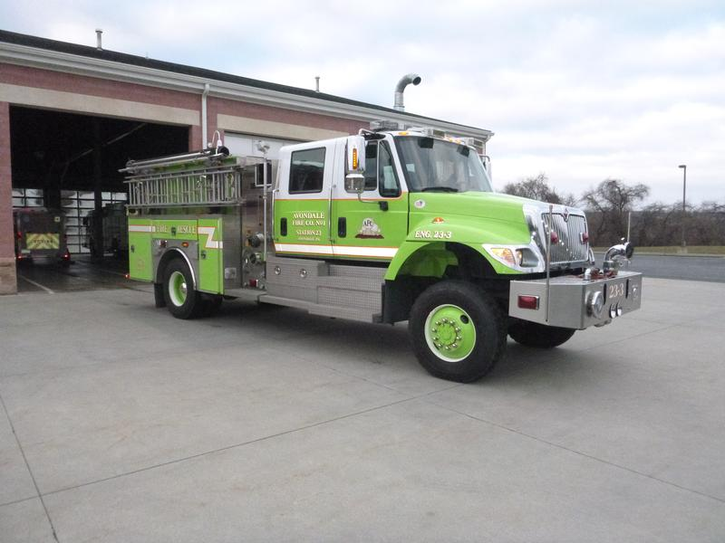 Members Say Goodbye to Engine 23-3 - Avondale Fire Company